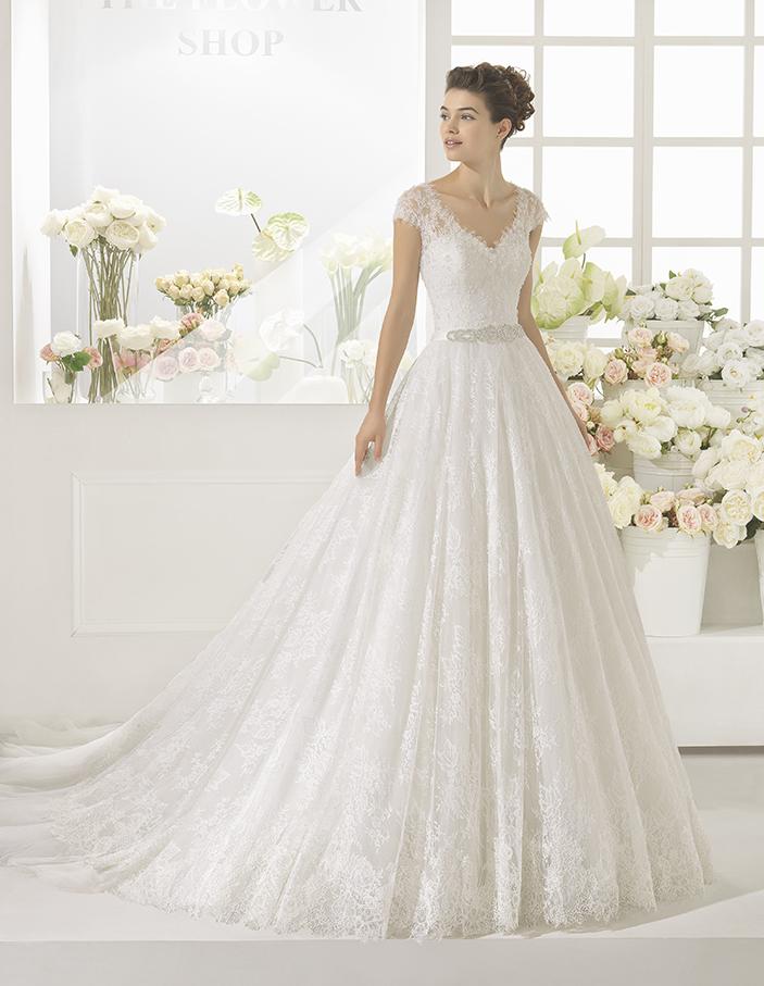 Vestidos de novia aire en madrid