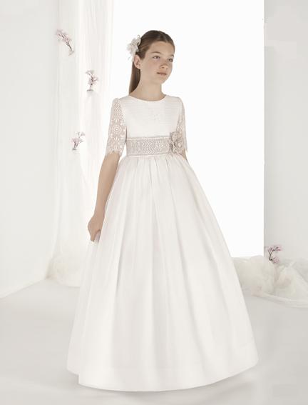 Vestido comunión 9419 Carmy - Lilian Segre Dénia