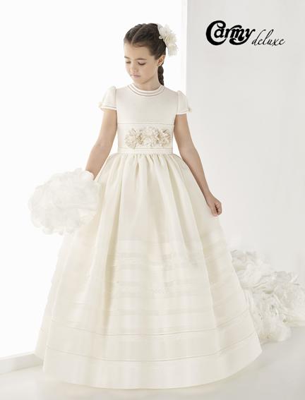 Vestido de comunión DL-902 Carmy Deluxe - Lilian Segre Dénia
