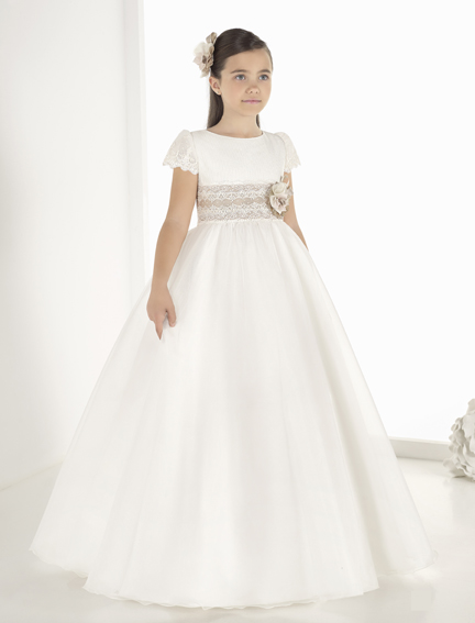 vestido comunión 9813 Petit - Lilian Segre Dénia