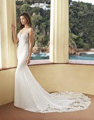 Vestido de novia Pensilvade la marca Adriana Alier