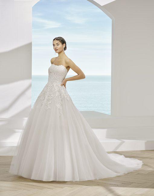 Vestido de novia Pincelde la marca Adriana Alier