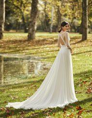 Vestido de novia Obrade Alma Novias. Disponible en Lilian Segre