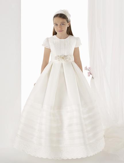 Vestido 9300 Carmy - Lilian Segre comunión