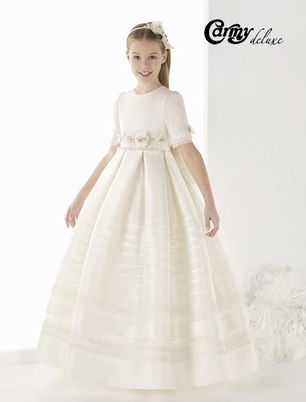 vestido comunión DL-905 Carmy Deluxe - Lilian Segre Dénia