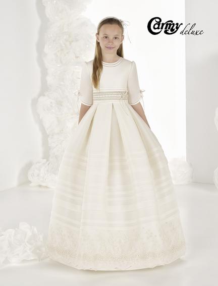 Vestido comunión DL-907 Carmy Deluxe - Lilian Segre Dénia