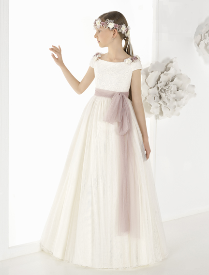 vestido comunión 9810 Petit - Lilian Segre Dénia