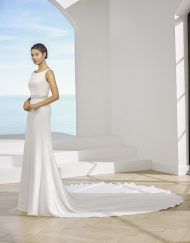 Vestido de novia Pabilde la marca Adriana Alier