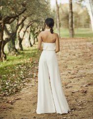 Vestido de novia Oasisde Alma Novias. Disponible en Lilian Segre