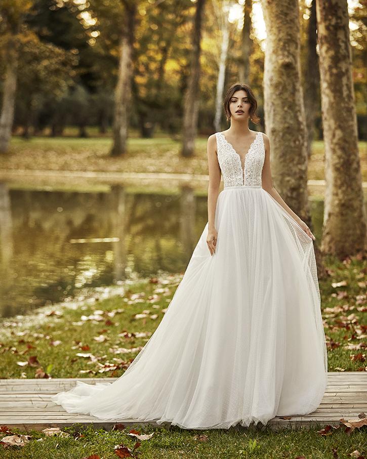 Vestido de novia Ongile- Alma Novias. Encuéntralo en Lilian Segre